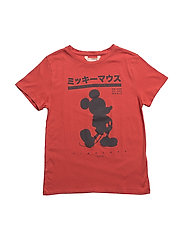 Mickey Mouse t-shirt - RED