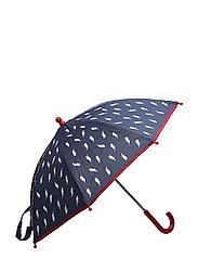 Lightning printed umbrella - NAVY