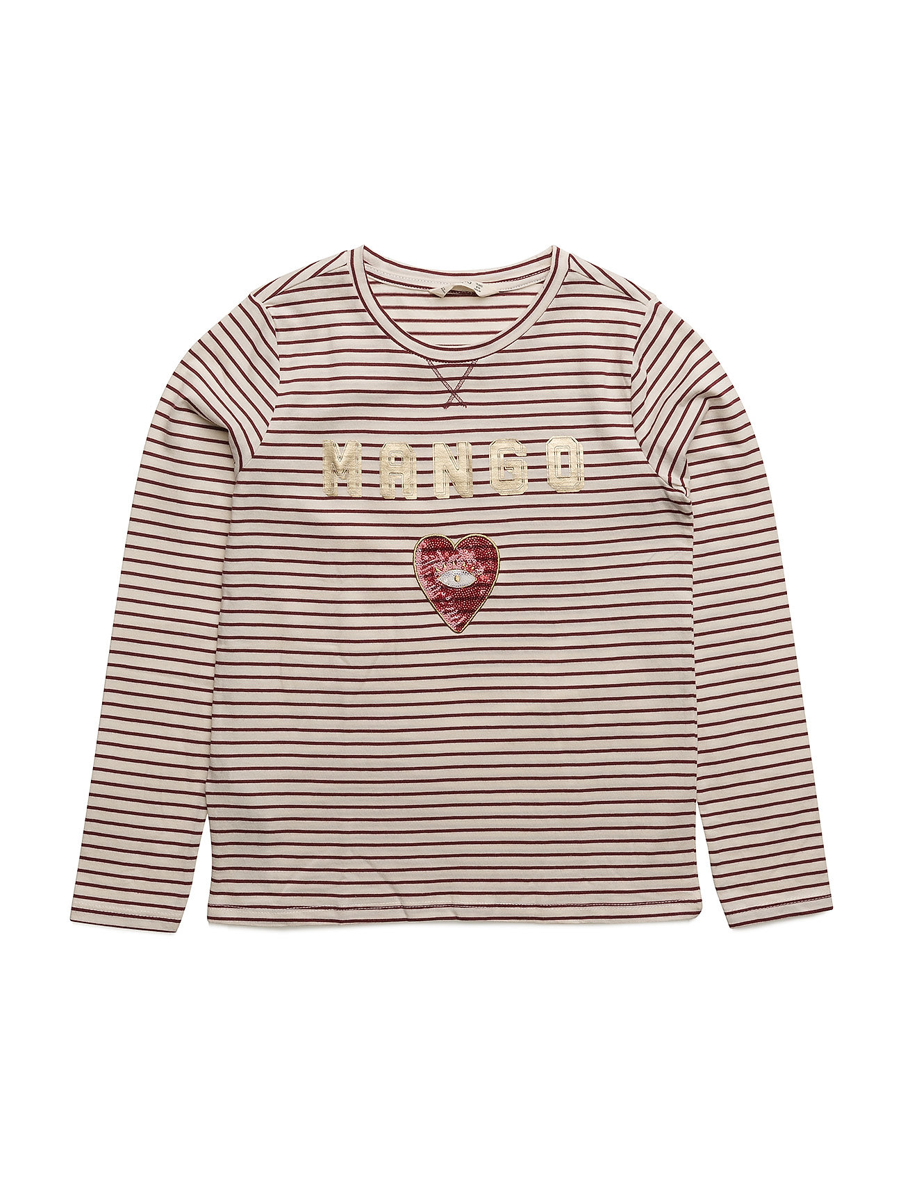 Mango Kids Embroidered sequin -shirt