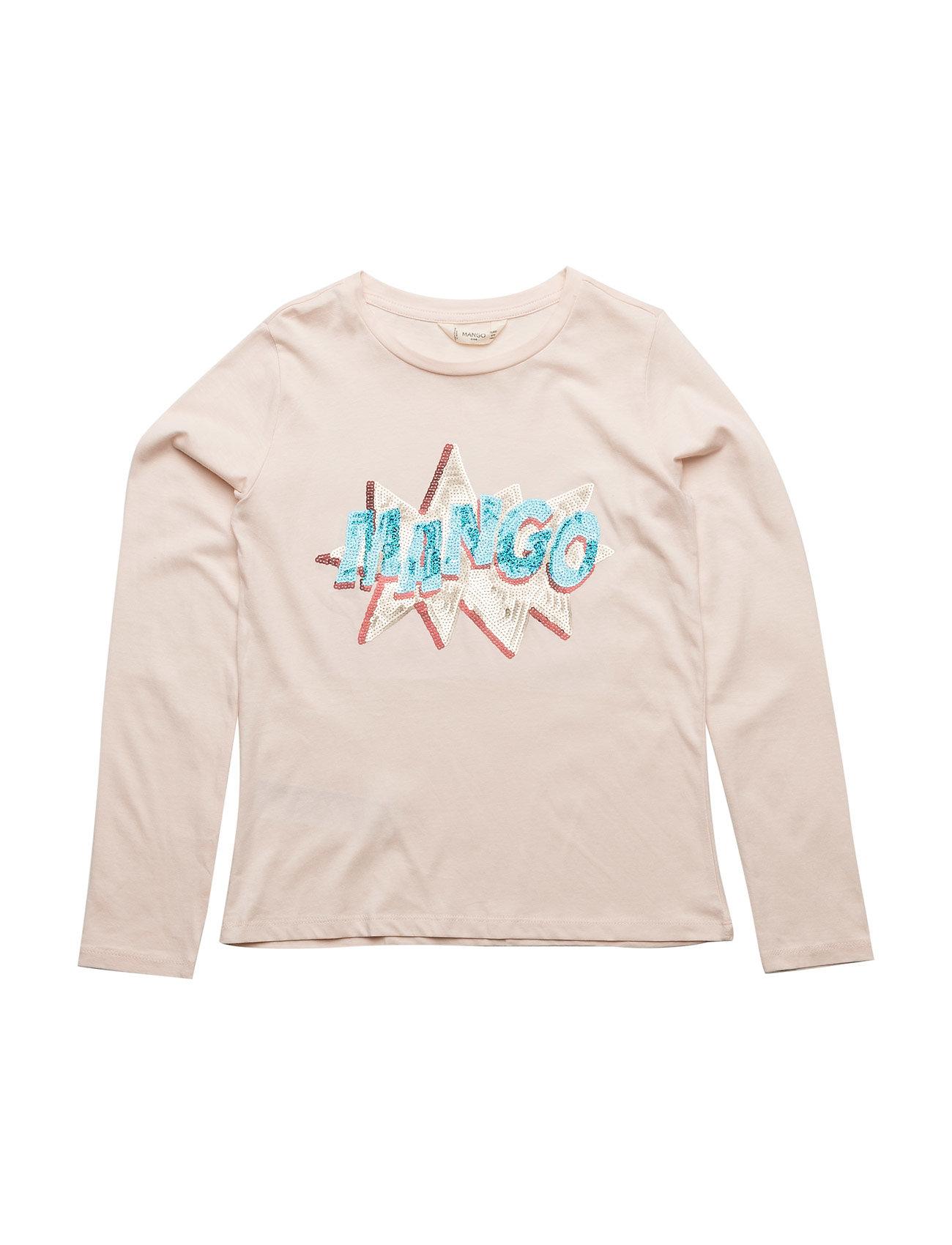 Mango Kids Embroidered sequin -shirt