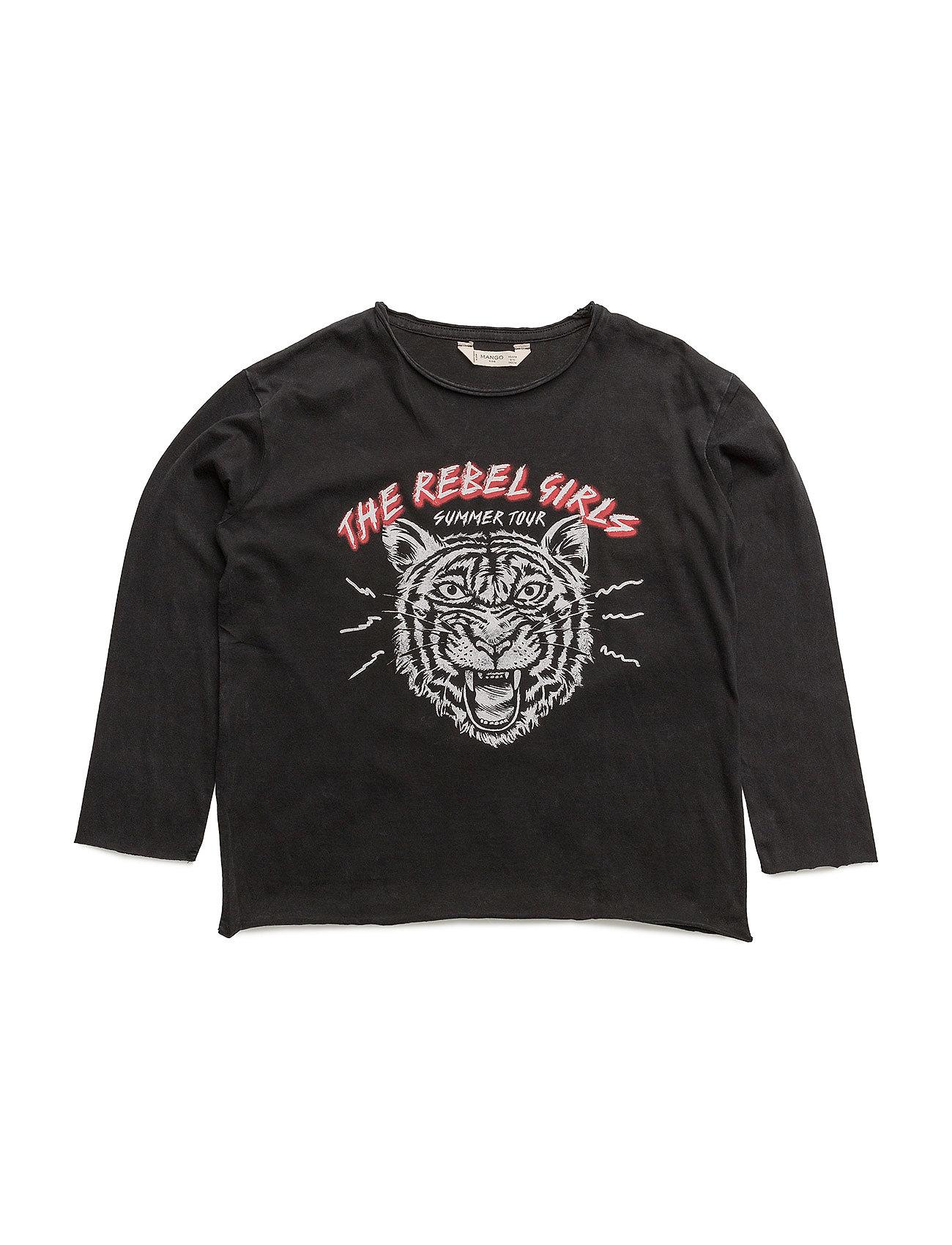 Mango Kids Lion print t-shirt