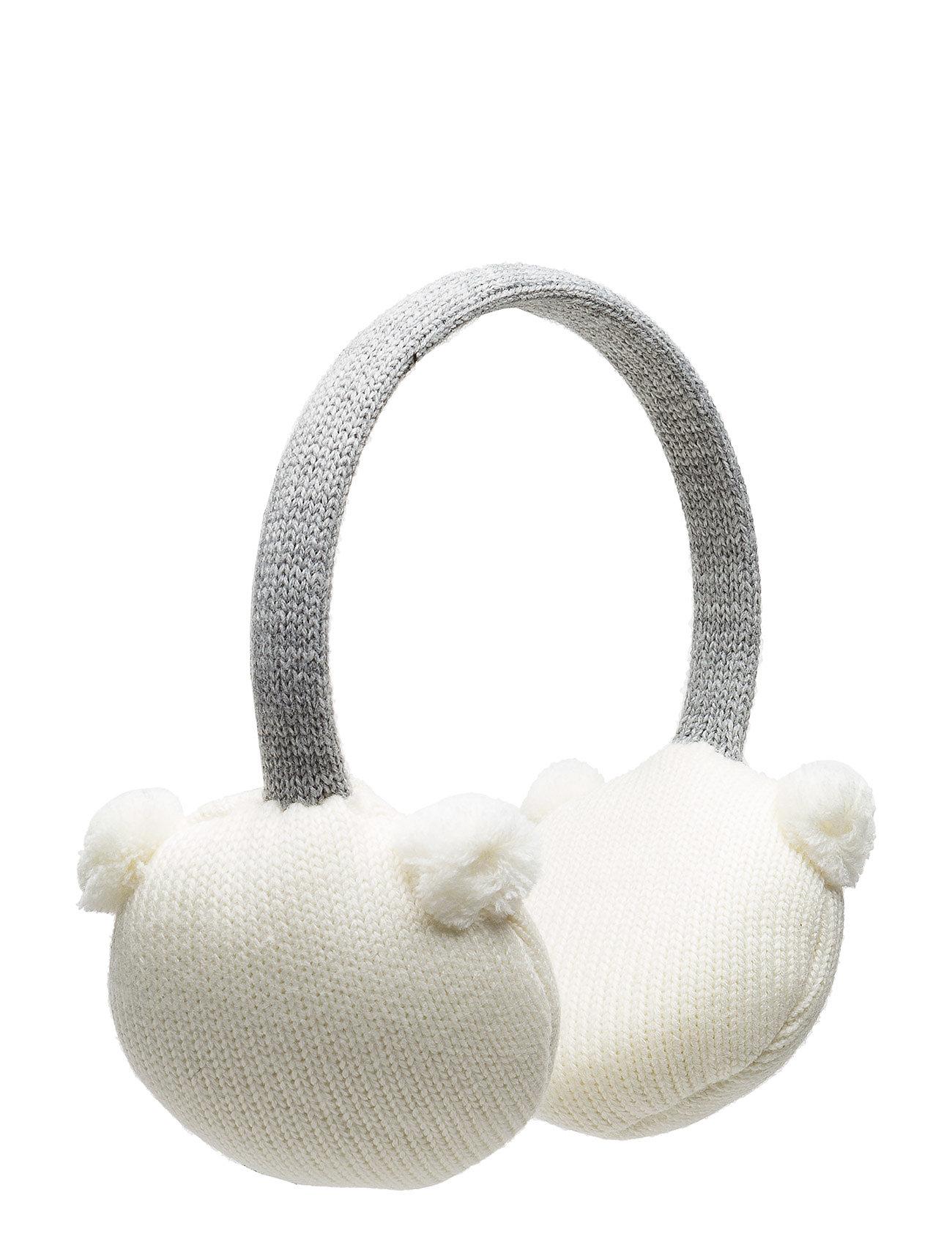 mango kids Knitted pompon ear muffs på boozt.com dk