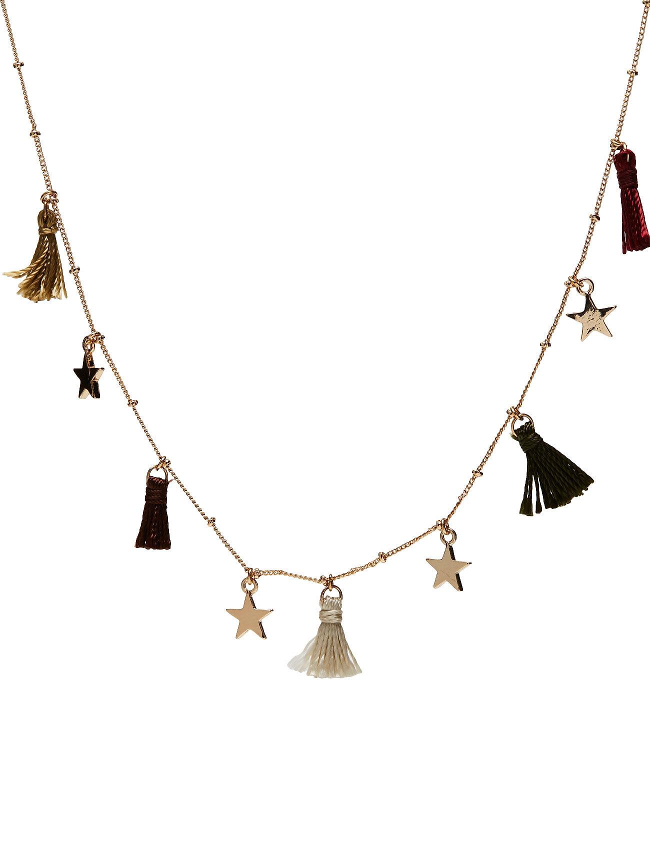 Chain Tassel Necklace Mango Kids Diverse til Børn i Guld