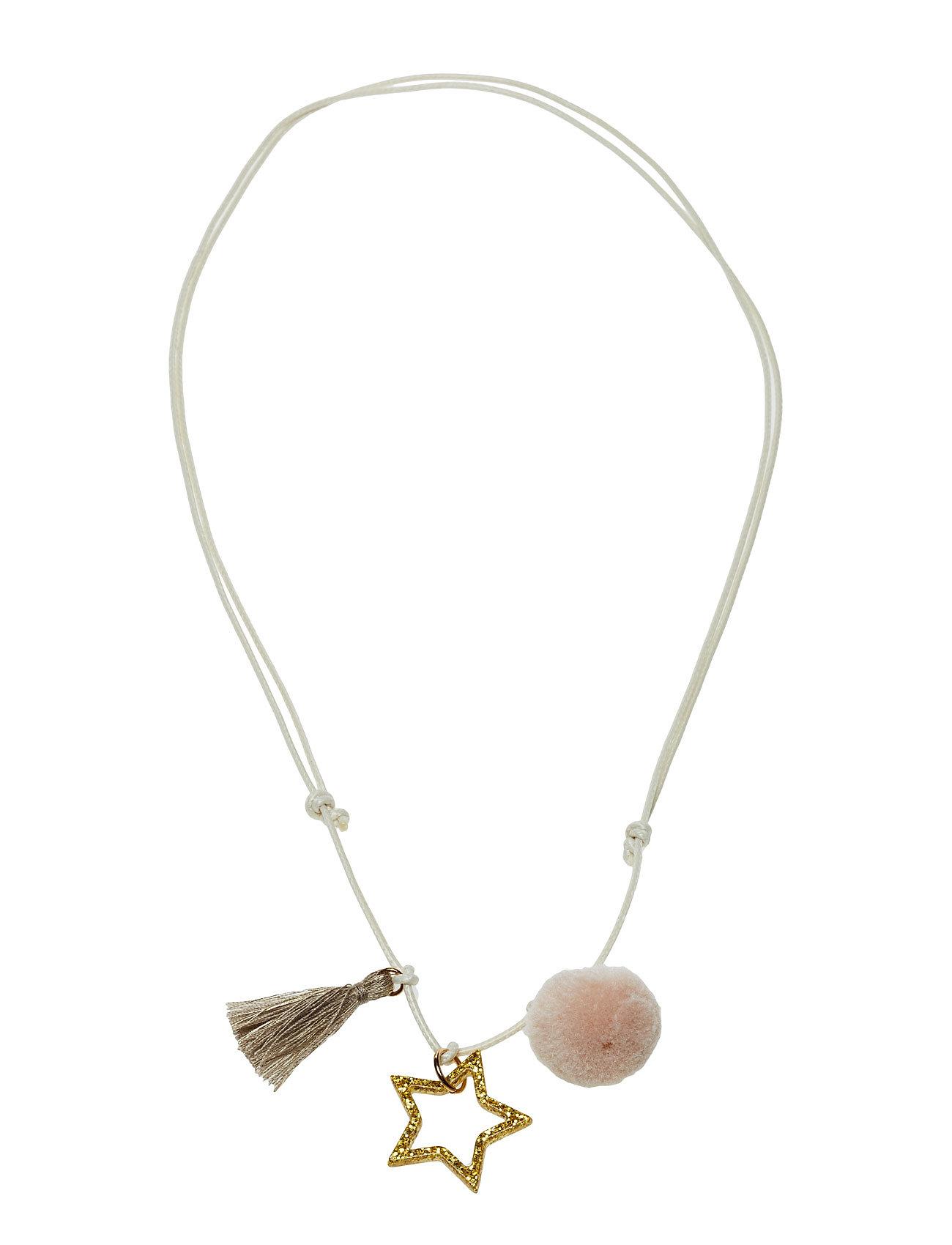 Mixed Pendant Necklace Mango Kids Accessories til Piger i Guld
