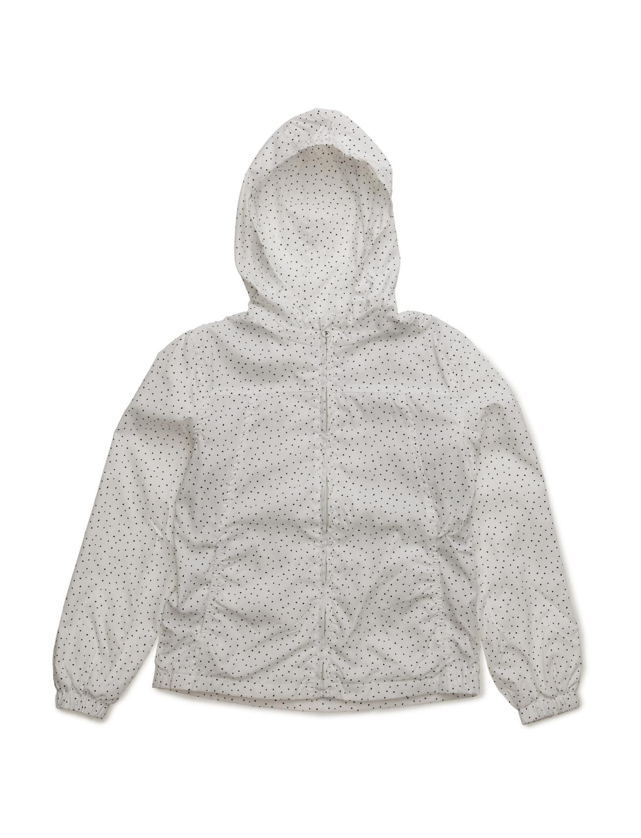 Raincoat Hooded Jacket Mango Kids  til Børn i Natural White