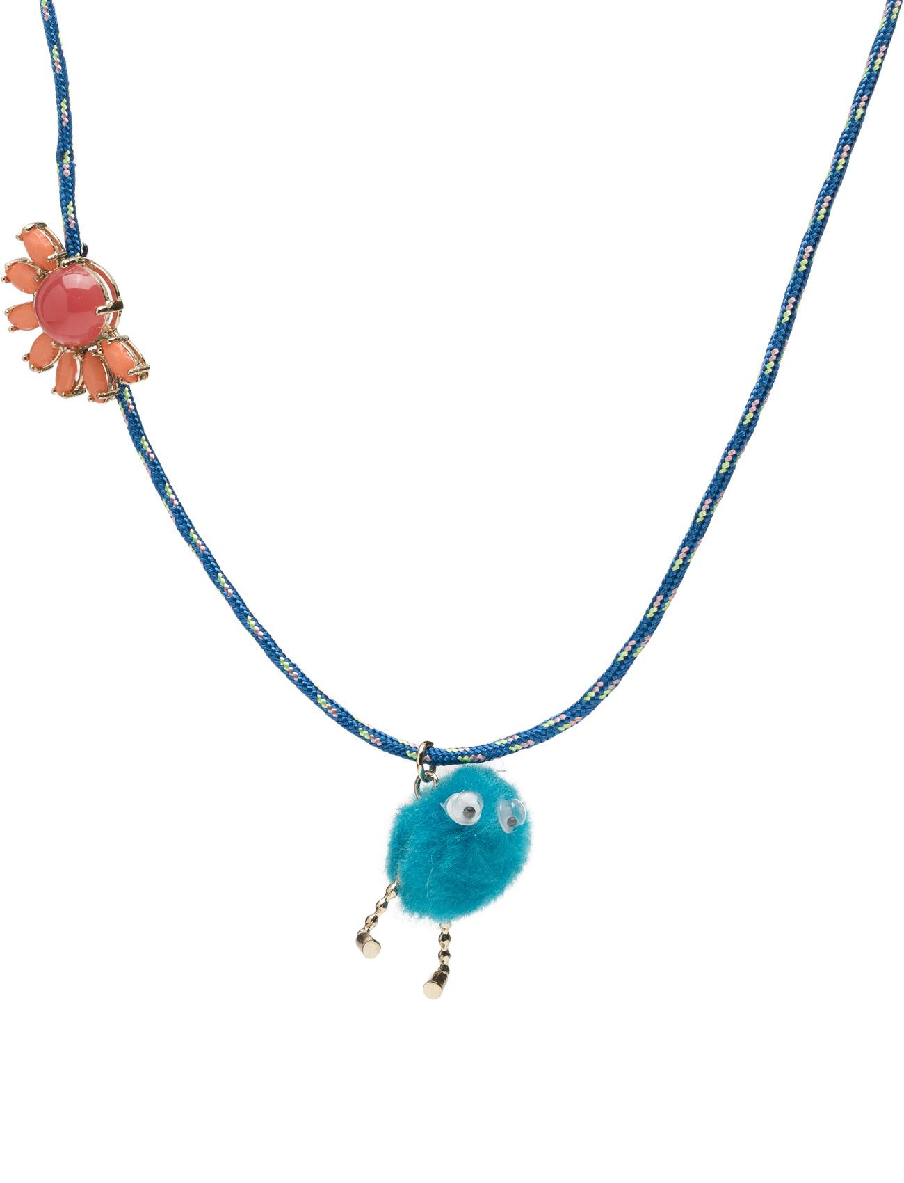 Crystal Embellishment Necklace Mango Kids Diverse til Børn i Bright Pink