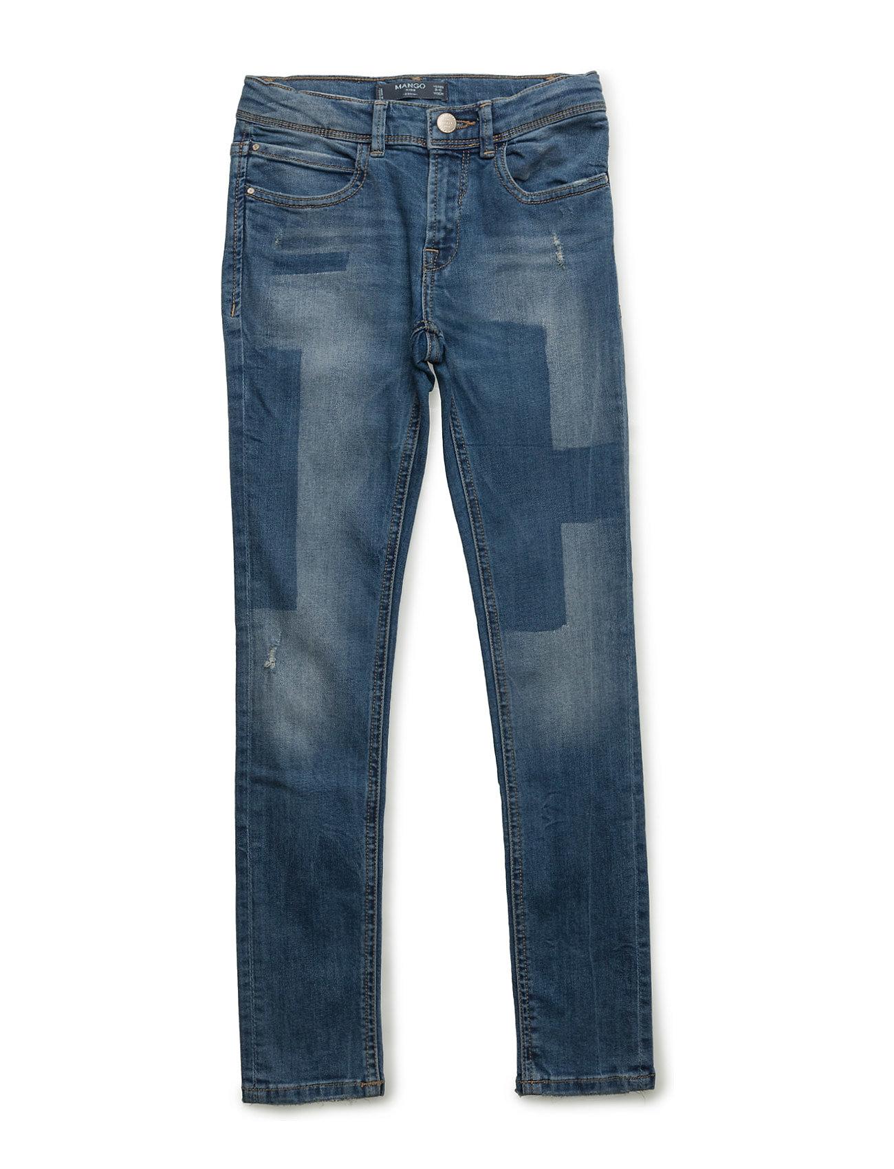 Slim-Fit  Jeans Mango Kids Jeans til Piger i Open Blå