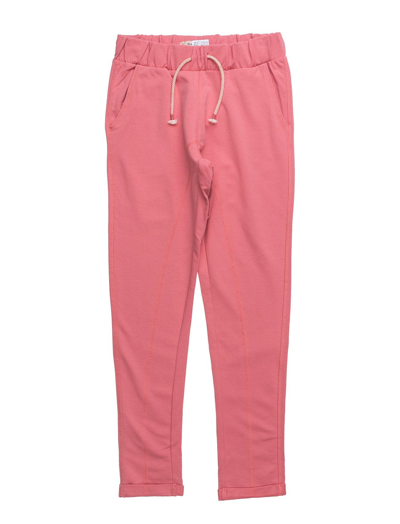 Cotton Jogging Trousers Mango Kids  til Børn i Medium Pink