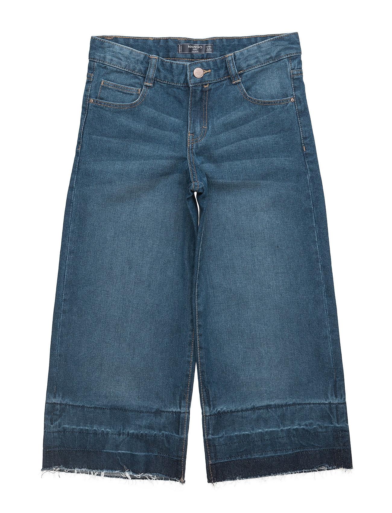 Crop Flared Jeans Mango Kids  til Børn i