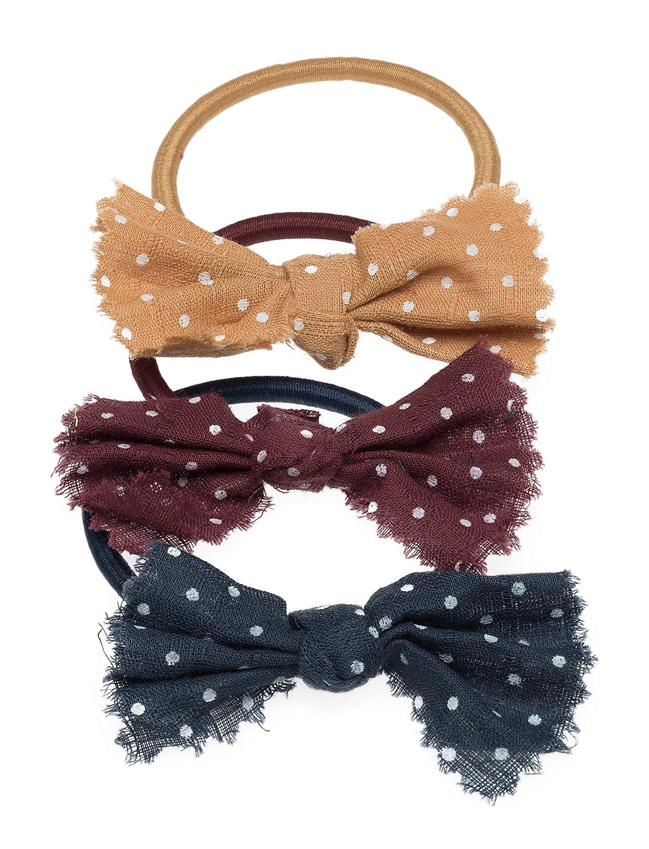 a9446bacf60 Bow Hair Tie Set Mango Kids Hår accessories til Børn i Navy blå ...