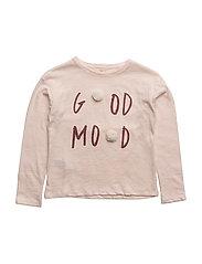 Pom pom cotton t-shirt