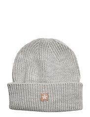 Star knit beanie - GREY