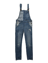 Combined long dungarees - OPEN BLUE