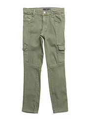 Patch pockets trousers - BEIGE - KHAKI