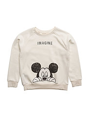 Mickey Mouse sweatshirt - NATURAL WHITE