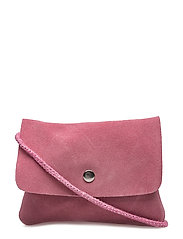 Leather cross body bag - LT-PASTEL PINK