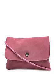 Leather cross body bag - LT-PASTEL PINK