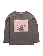Printed image t-shirt - CHARCOAL