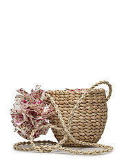 Raffia basket bag - LIGHT BEIGE