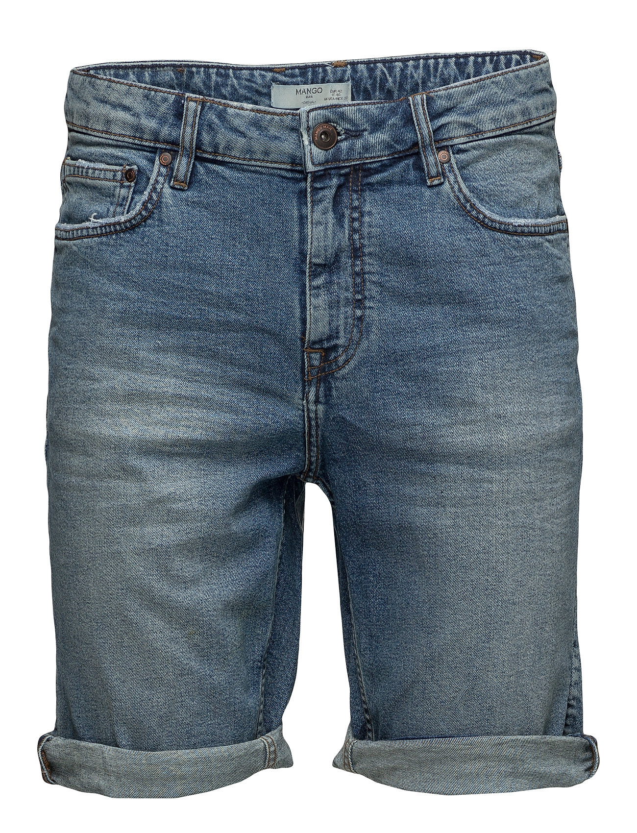 Medium Denim Bermuda Shorts thumbnail