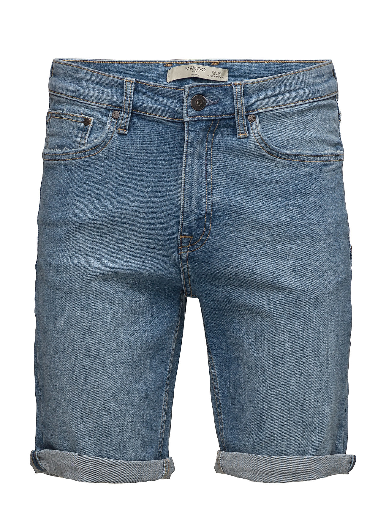 Light Denim Bermuda Shorts thumbnail