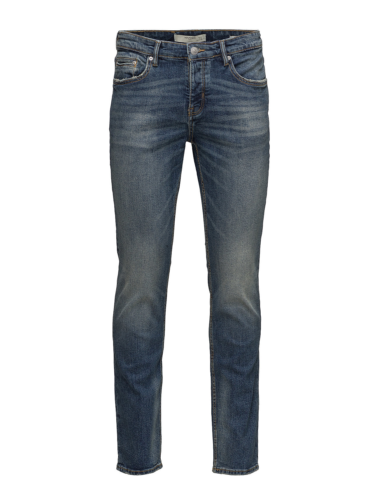 Slim-Fit Dark Wash Tim Jeans thumbnail