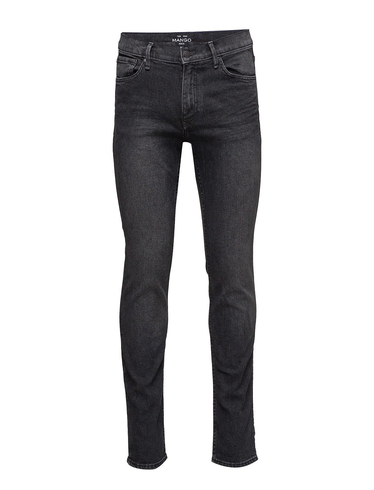 Slim-Fit Grey Jan Jeans Mango Man Slim til Herrer i Open Grey