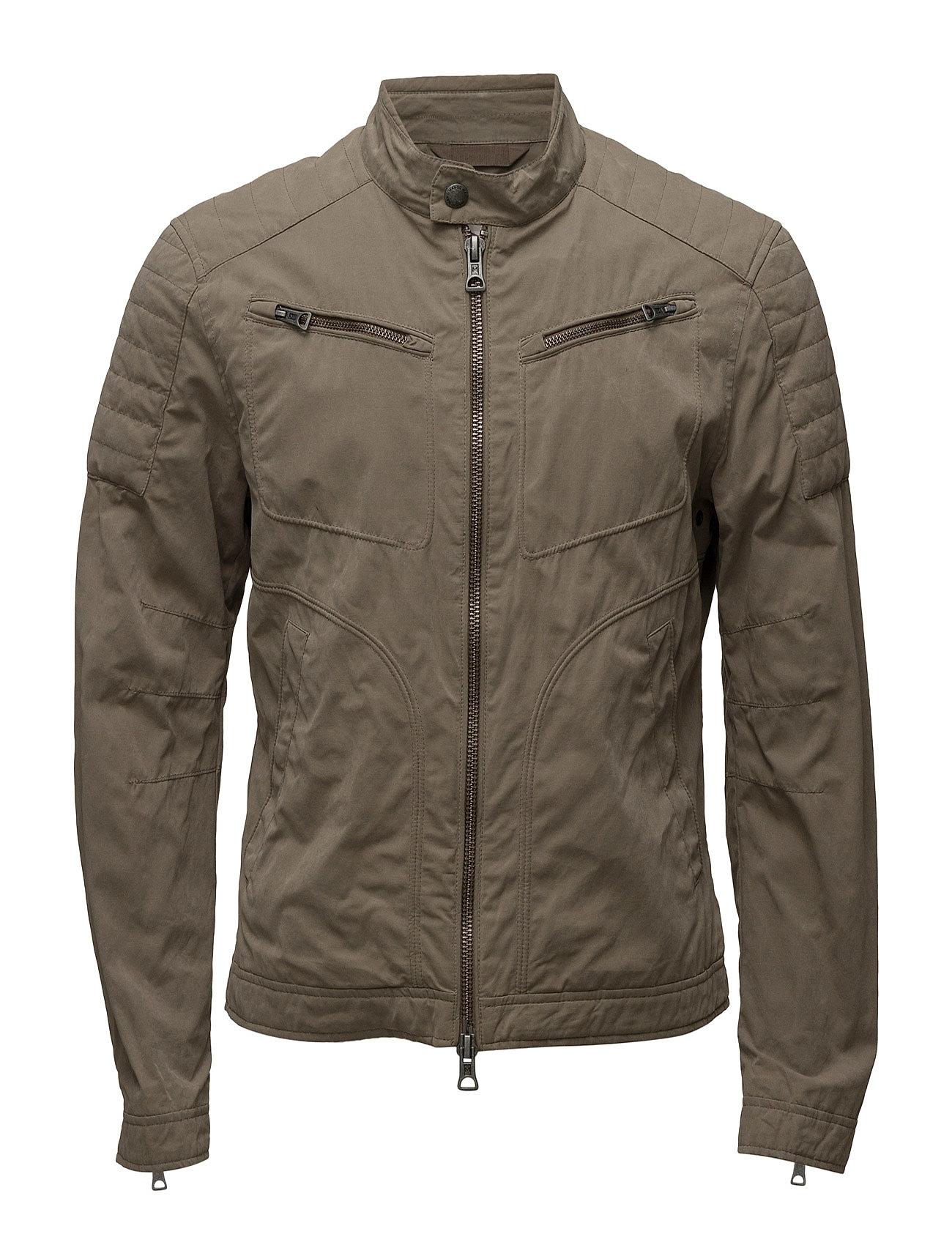 Cotton Nylon-Blend Jacket Mango Man Jakker til Herrer i Beige - Khaki