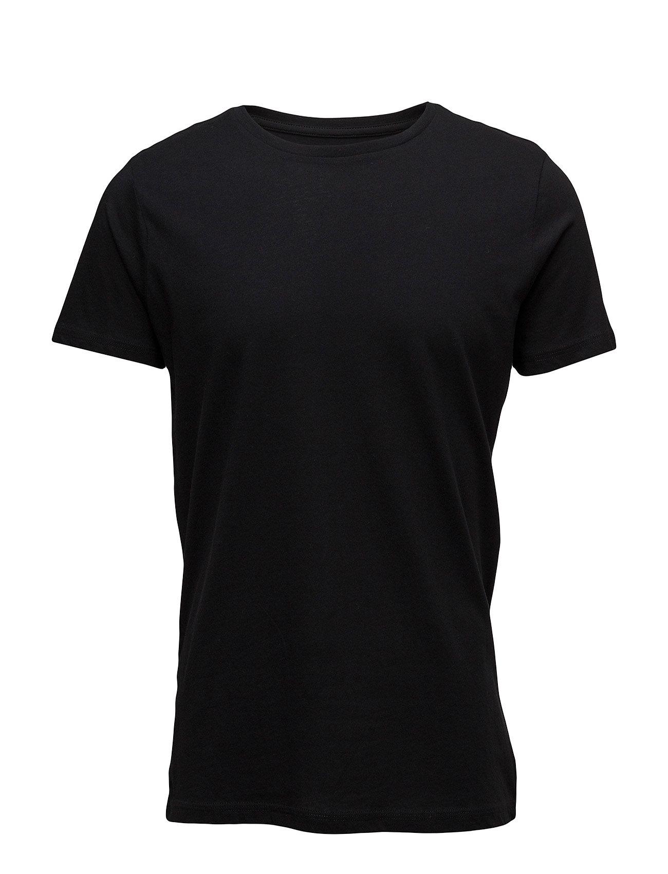 Essential Cotton T-Shirt Mango Man Kortærmede til Mænd i Mørkerød