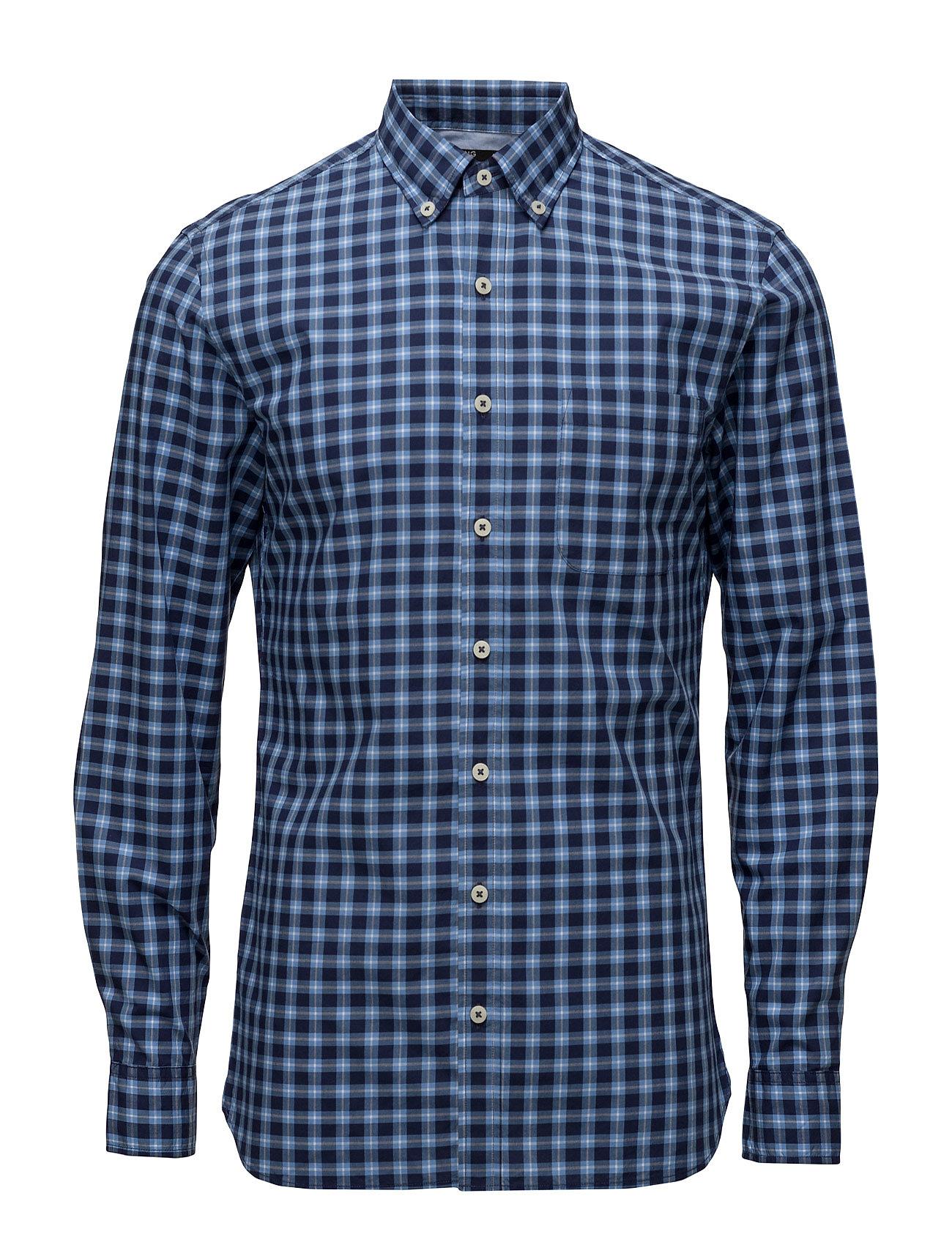 Slim-Fit Check Shirt Mango Man Trøjer til Mænd i