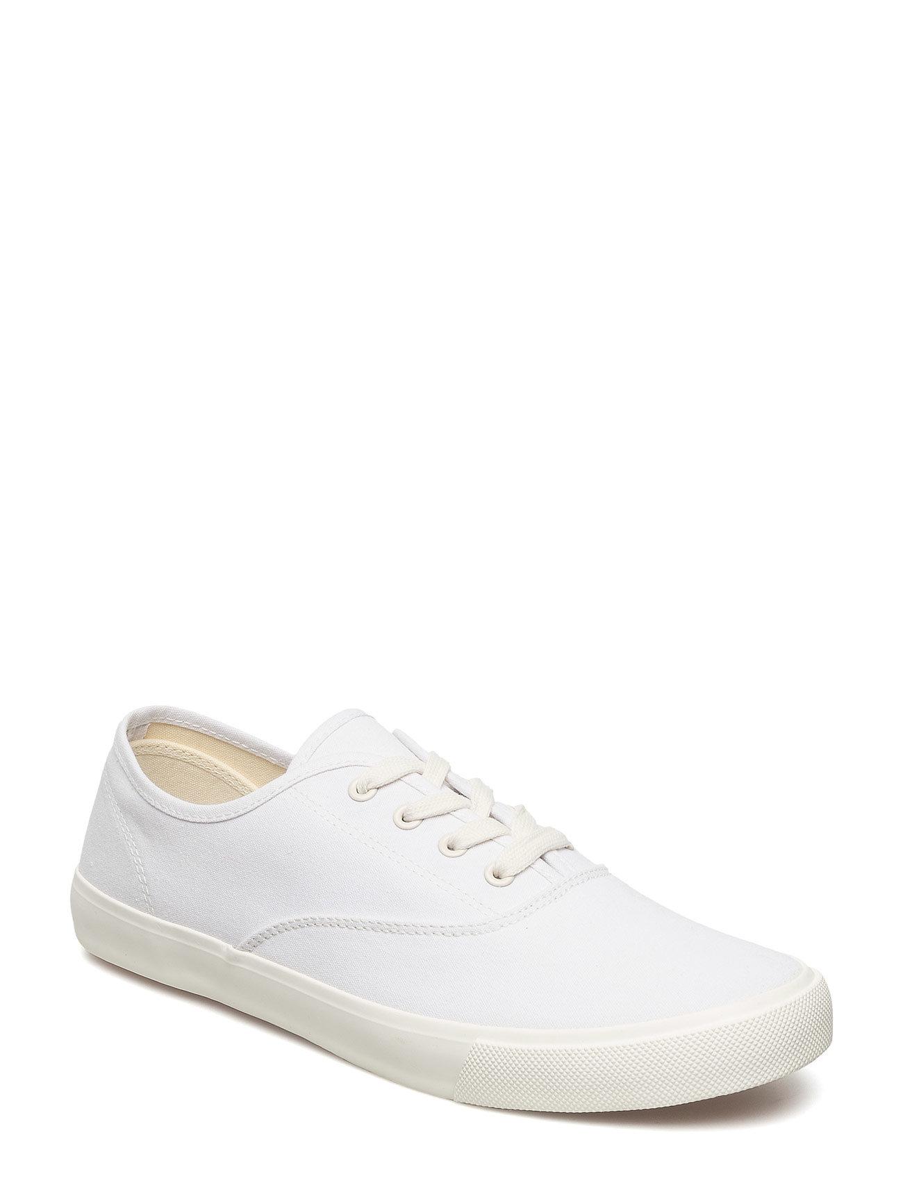 Canvas Sneakers Mango Man Sneakers til Herrer i hvid