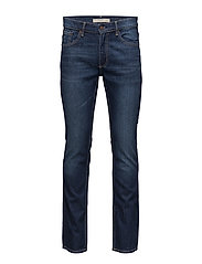 Straight-fit dark Bob jeans - OPEN BLUE