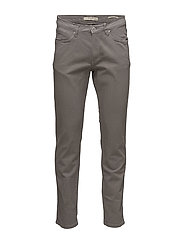 Slim-fit grey Patrick jeans - MEDIUM BROWN
