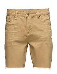 Denim bermuda shorts - MEDIUM YELLOW