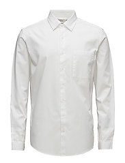 Regular-fit cotton shirt - WHITE