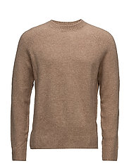 Chunky-knit sweater - MEDIUM BROWN