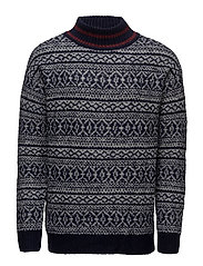 Fair Isle sweater - NAVY