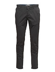 Slim-fit cotton chinos - NAVY