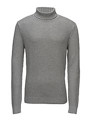Turtleneck sweater - MEDIUM GREY