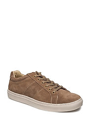 Suede panels sneakers - LT PASTEL BROWN
