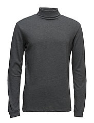 Essential cotton-blend sweater - GREY