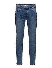 Slim-fit medium wash Jan Jeans - OPEN BLUE