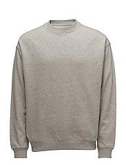 Oversize cotton sweatshirt - GREY