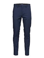Super-slim suit pants - NAVY