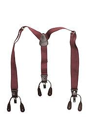 Adjustable elastic braces - DARK RED