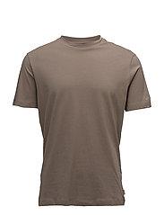 Essential cotton t-shirt - BROWN