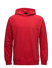 Hoodie cotton sweatshirt - RED