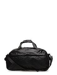 Pebbled weekend bag - BLACK