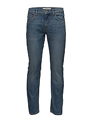 Straight-fit medium wash Bob jeans - OPEN BLUE