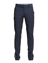 Prince of Wales suit trousers - Dark blue